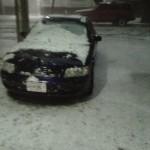 La nevada de ayer.